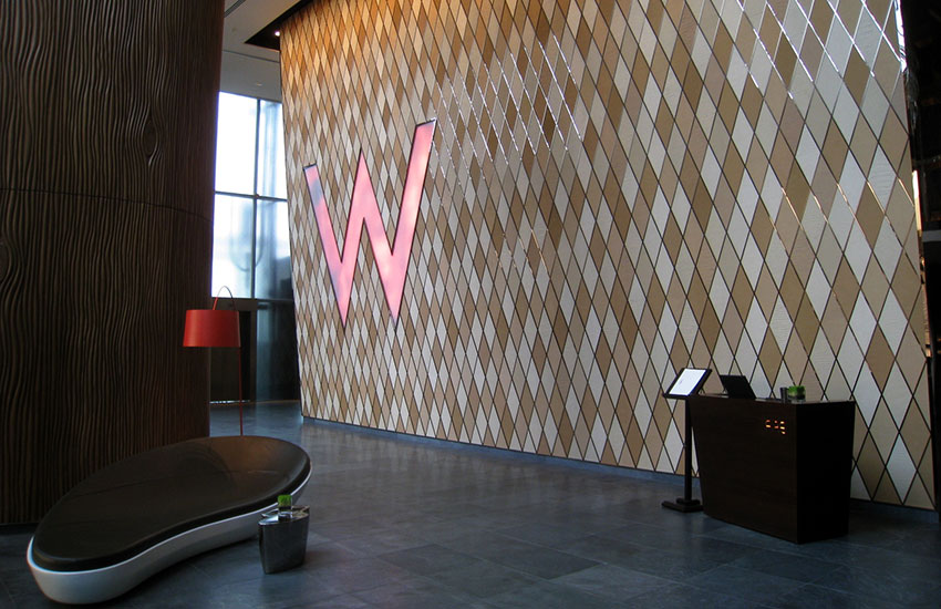 The W Hotel in Hong Kong