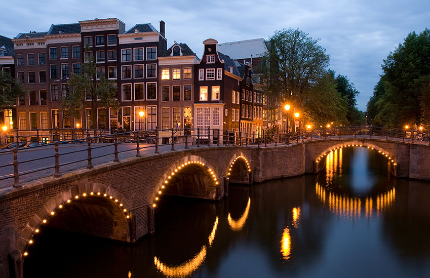 Amsterdam is one of the world's most romantic cities