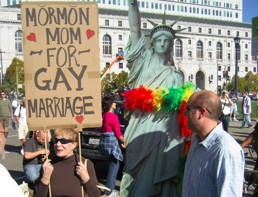 Mormon moms for gay marriage