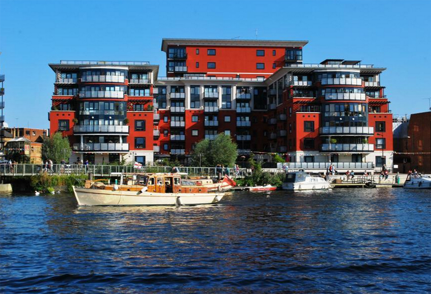 Chater Quay is one of Kingston's prime developments.