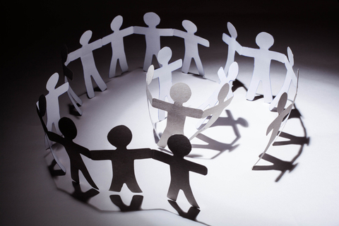 Paper people image