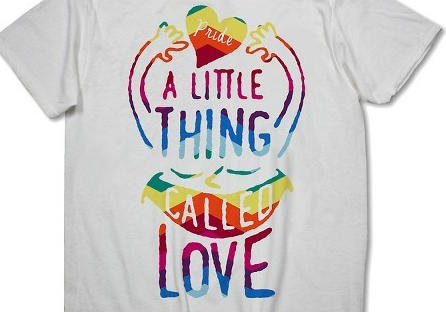 One of the Target T-shirts on sale for Pride season