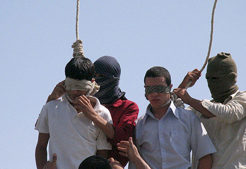 Mahmoud Asgari and Ayaz Marhoni were hanged in Iran for being gay