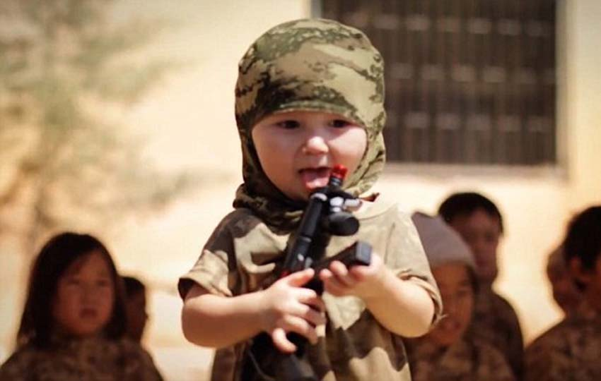 Children are being made into killers at ISIS camps