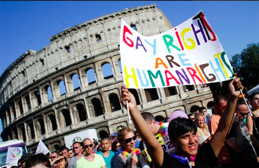 Italy has now brought in civil unions