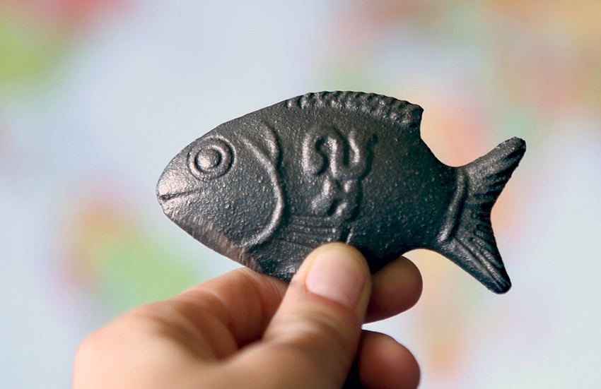 In Cambodian culture, the fish is a symbol of good luck.