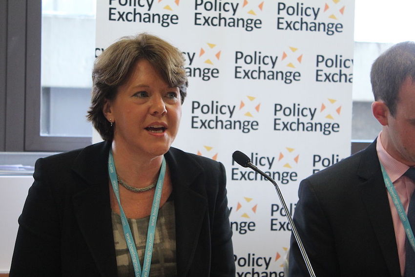 Chair of the Women and Equalities committee Maria Miller.