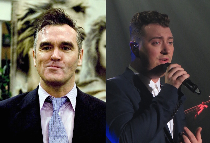 Morrissey and Sam Smith.