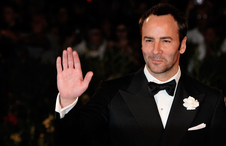 Tom Ford is one hot daddy!