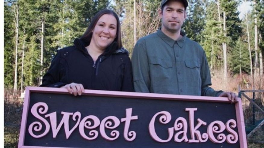 Melissa and Aaron Klein, owners of Sweet Cakes by Melissa