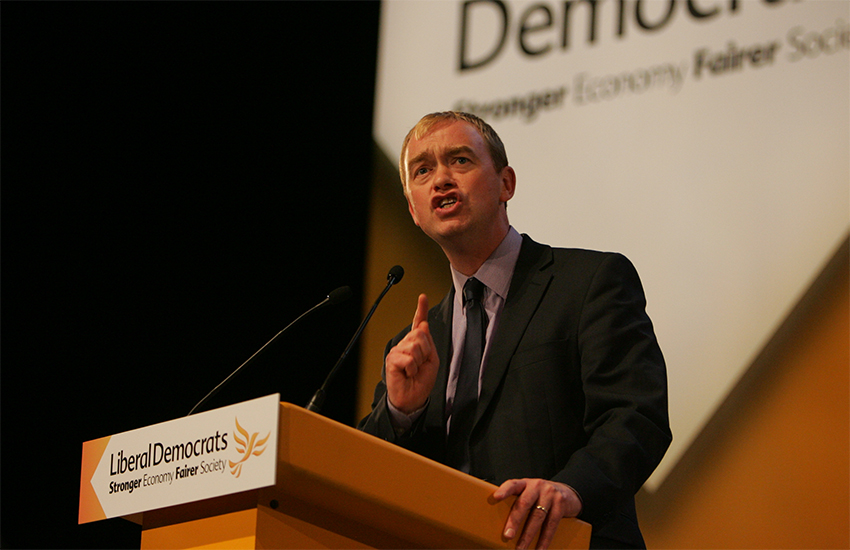"""Tim Farron says he became """"torn"""" between his Christian faith and his political responsibilities"""