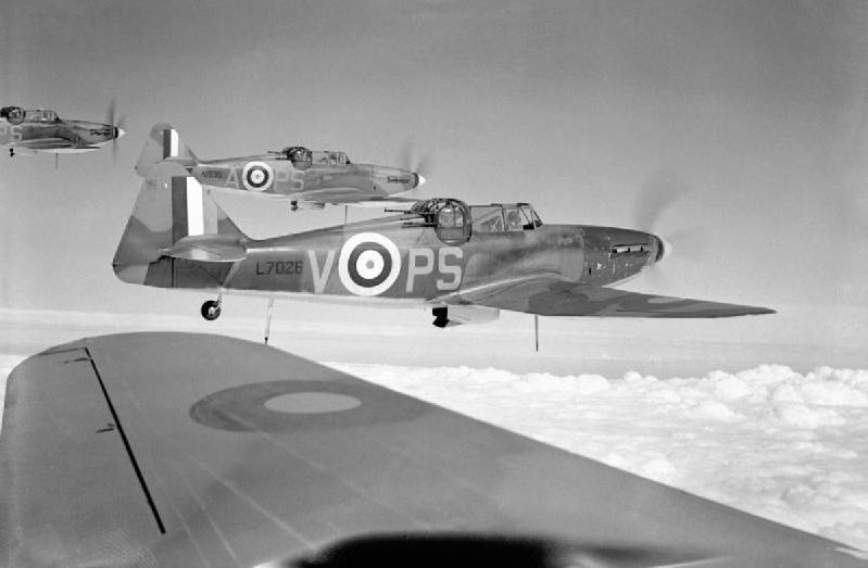RAF fighters from the Battle of Britain
