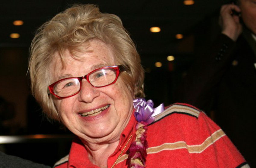 Dr Ruth says asexuals make up 'too much' of the population