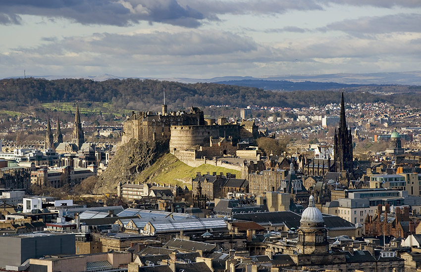 Standing on the plug of an extinct volcano, Edinburgh Castle is one of the cities most iconic sights.
