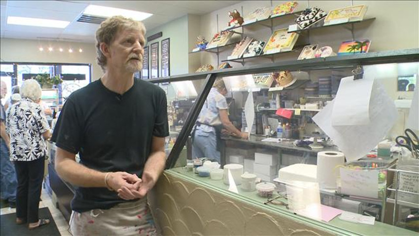 Jack Phillips in his Masterpiece Cakeshop