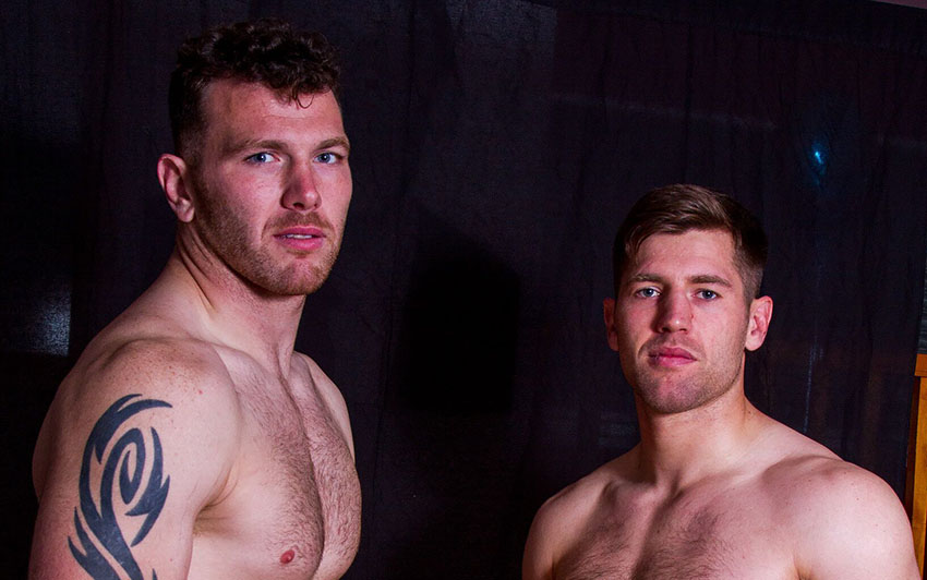 Keegan Hirst strips naked for charity
