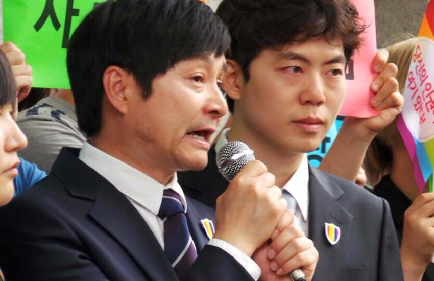 Korea's first gay married couple are challenging the country's marriage laws.