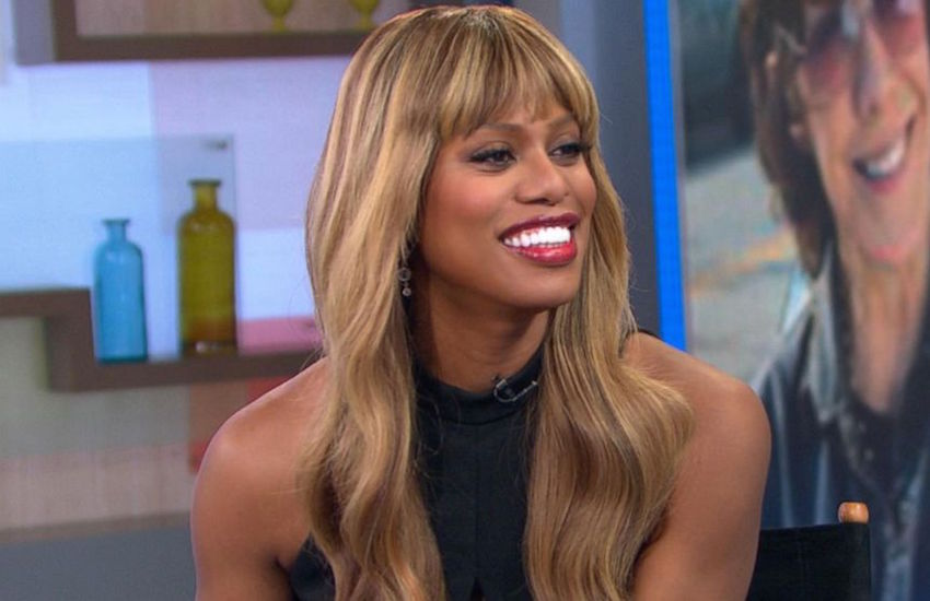 Laverne Cox on Good Morning America.