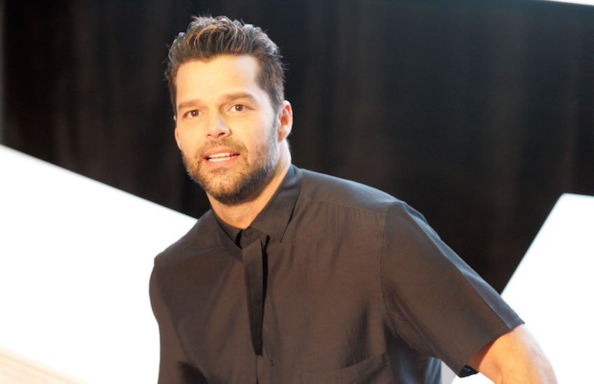 Openly gay singer Ricky Martin is from Puerto Rico.