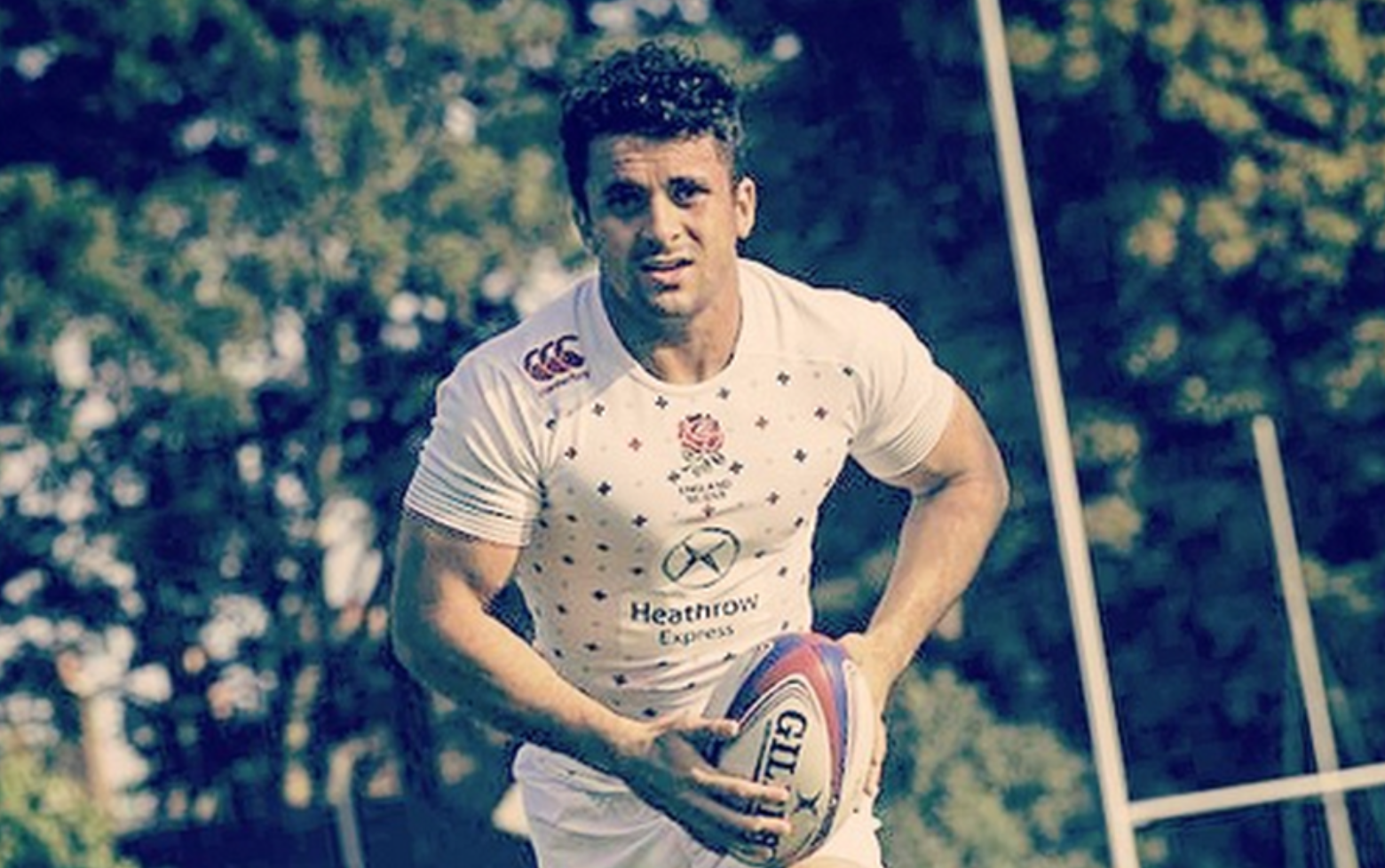 Sam Stanley has become the first rugby union player to come out as gay.