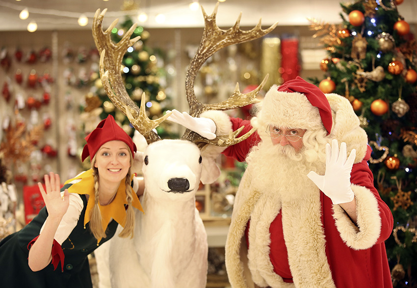 As the first shop in the world, Selfridges is spreading cheer in the leadup to Christmas 2015.