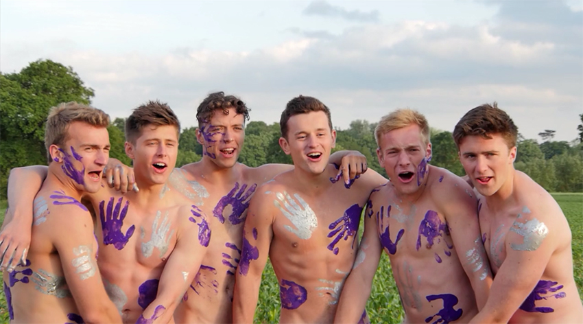 The Warwick Rowers raise money for gay rights by posing naked once again