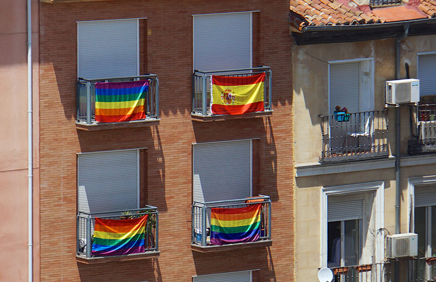 Only half of the interviewees think gay neighbors are agreeable.