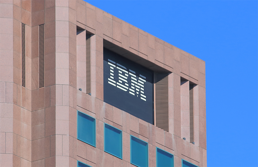 Offices of the global computing giant, IBM