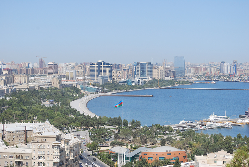 Baku, the capital of Azerbaijan, hosted the Eurovision Song Contest in 2012.