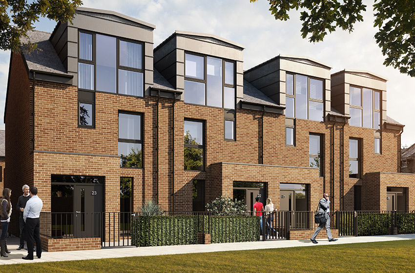 A number of apartments, duplexed and contemporary townhouses drive the regeneration in Camberwell.
