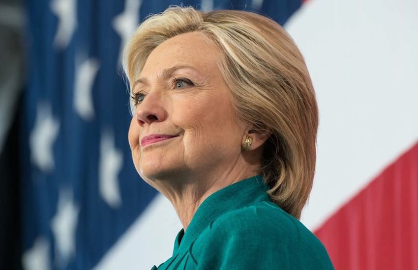 Hillary Clinton is first female presidential nominee of major political party.