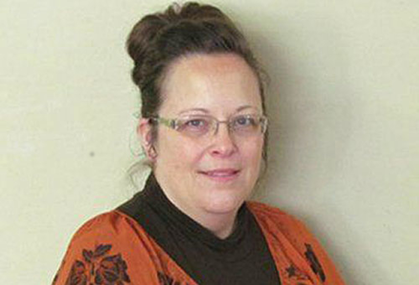 Rowan County Clerk Kim Davis comes up with fanciful legal theory to deny rights to LGBTI couples