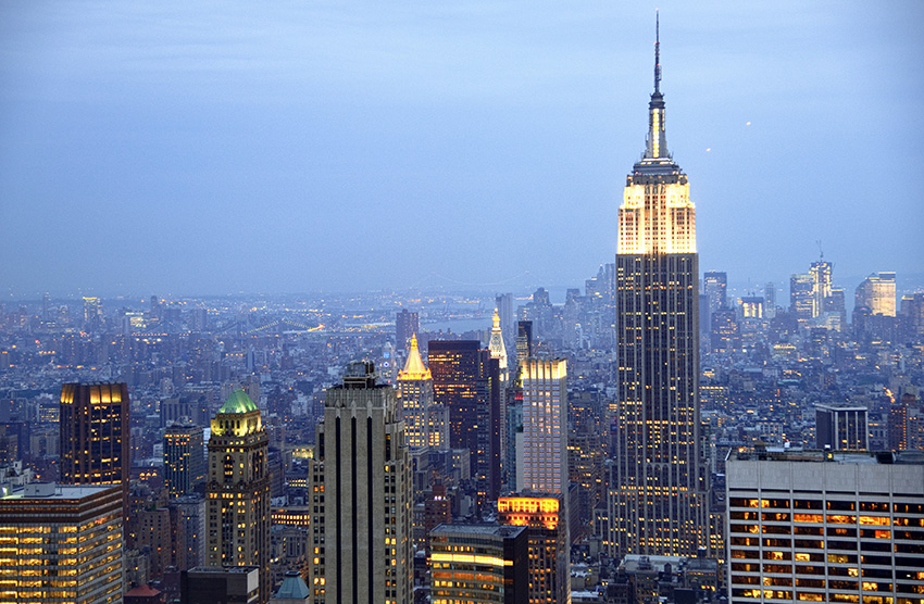The epitome of New York City, Manhattan is the place to be.