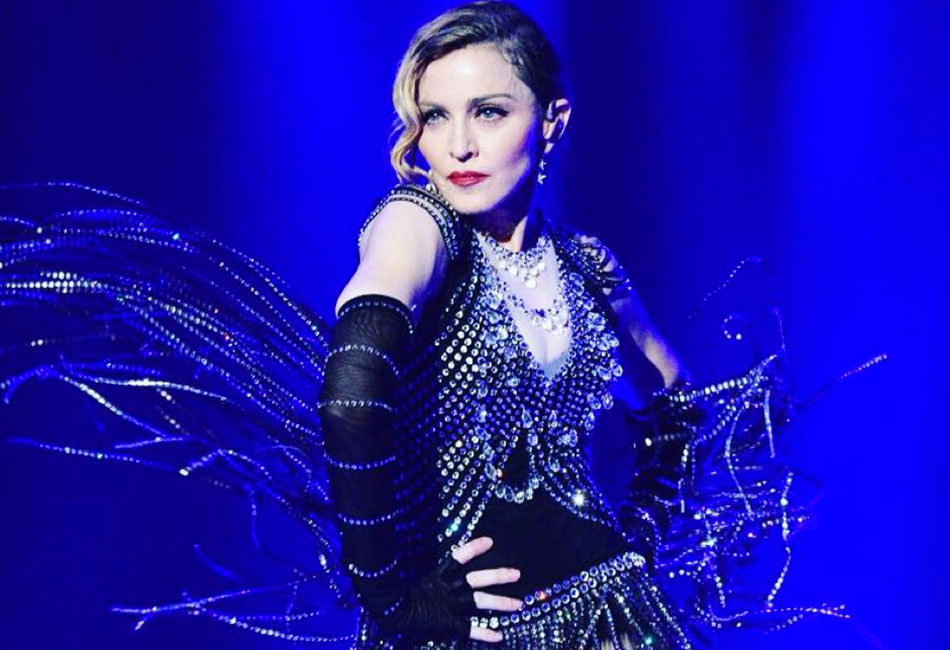 Madonna played the first date of her Rebel Heart Tour in Montreal.