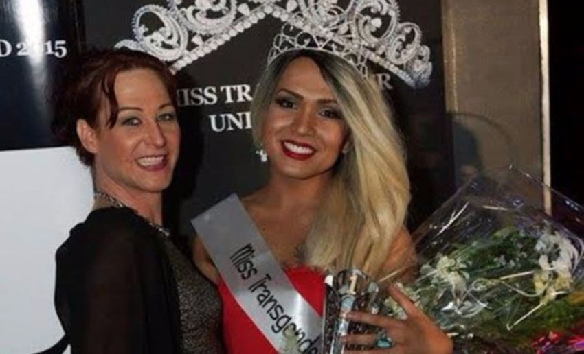 This is the winner of Miss Transgender UK