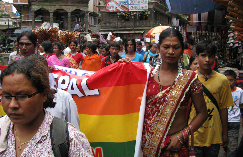 Nepal Pride is held on the same day as the Gai Jatra Festival.