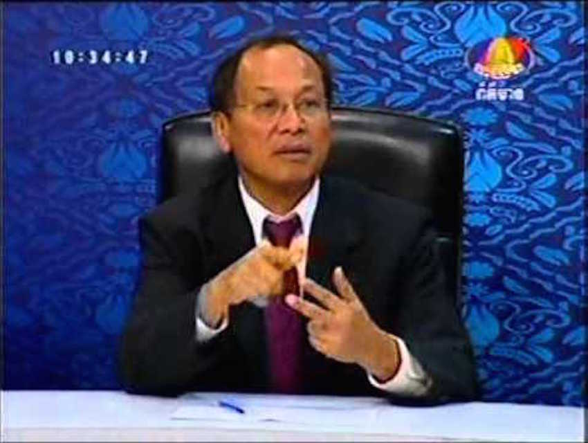 Government spokesperson Phay Siphan said Cambodian society does not discriminate against LGBTI people.