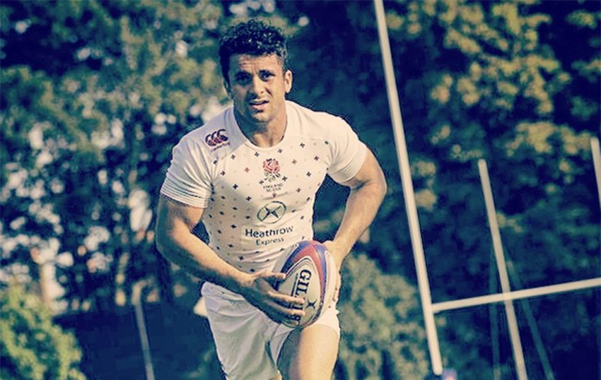 Sam Stanley has become the first English rugby union player to come out