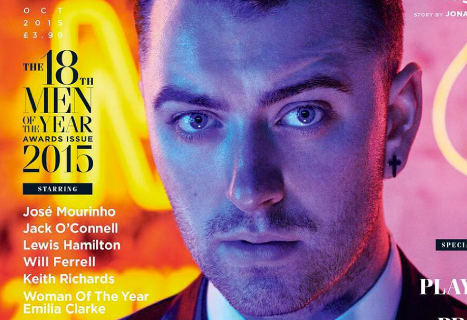 Sam Smith on the cover of the new issue of GQ