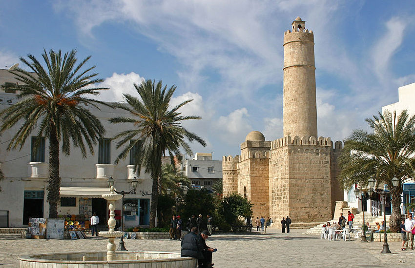 Student was detained in the Mediterranean resort of Sousse.