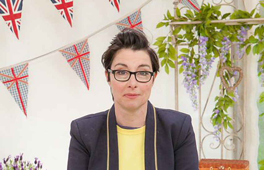 Sue Perkins was told by a doctor her infertility was 'easier' because she's a lesbian.