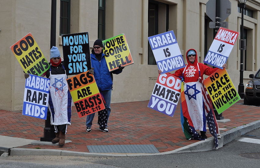 Westboro Baptist Church.