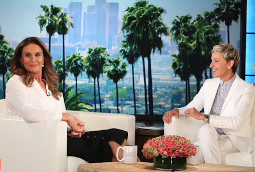 Caitlyn Jenner was asked about same-sex marriage by Ellen DeGeneres last year