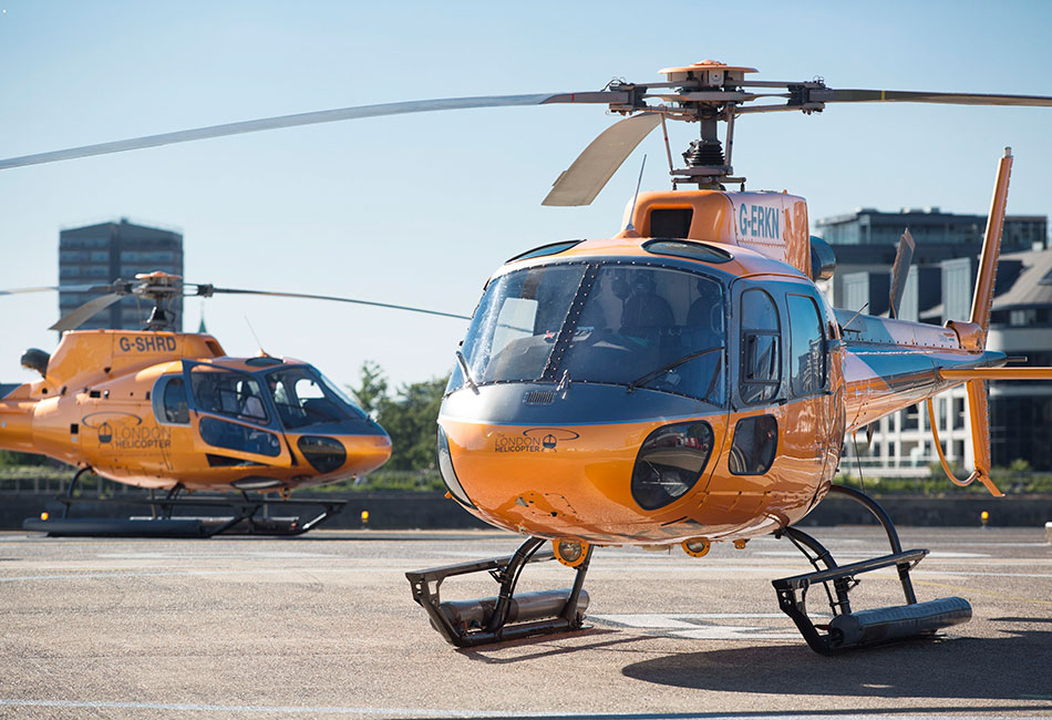 The London Helicopter is based at the The London Heliport, Battersea