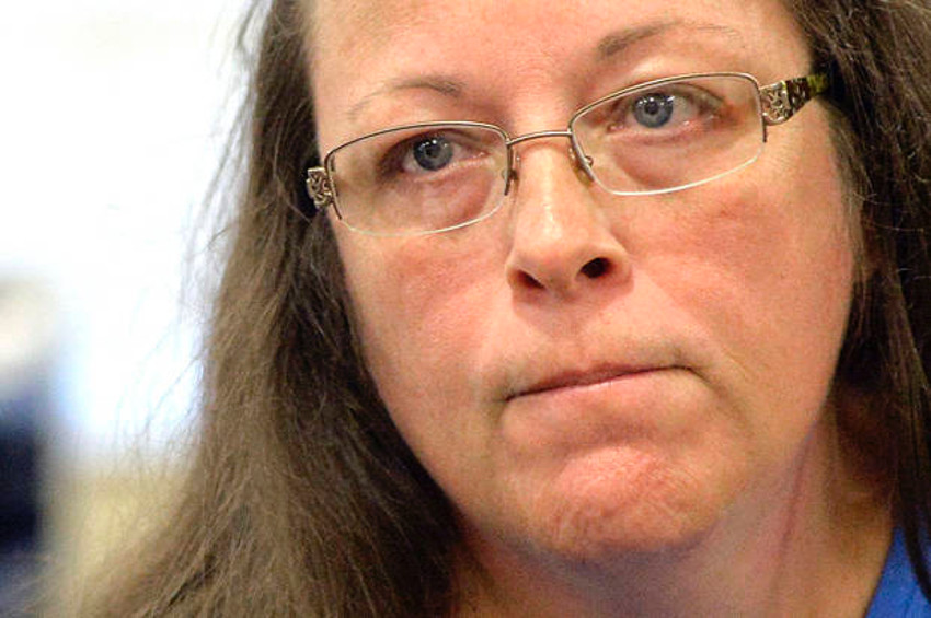 Kim Davis has just been offered a chance to do interracial lesbian porn