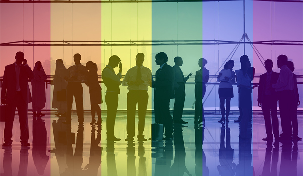 The survey explored global attitudes to LGBT inclusion at work