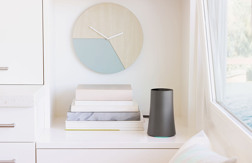 No more hiding: the ASUS OnHub doesn't look like a typical router.