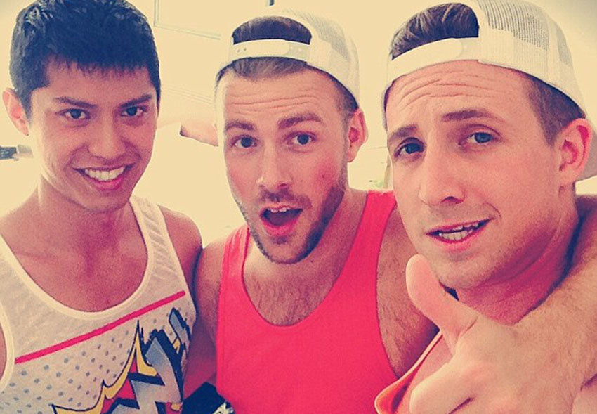 Meet the three gay guys in a relationship