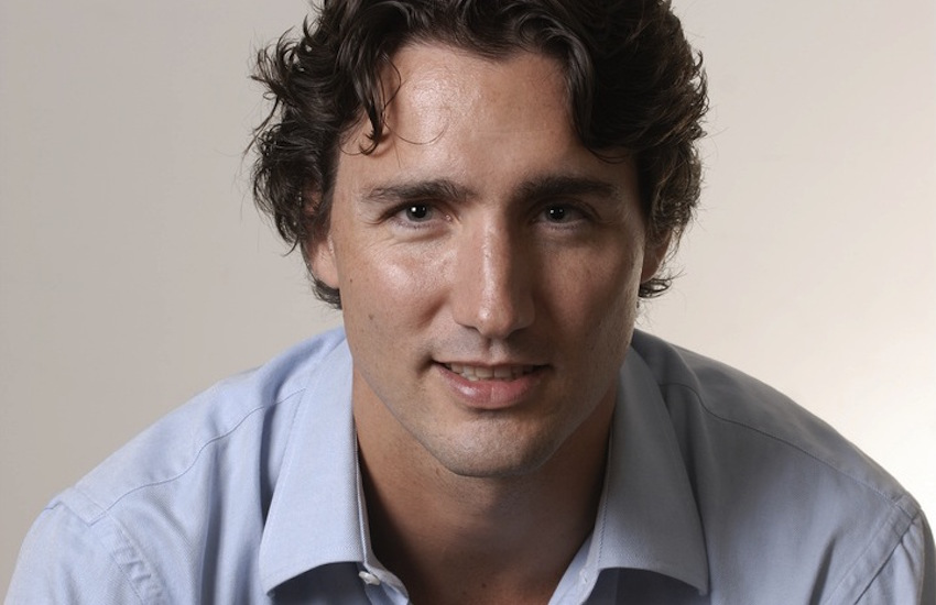Social media is swooning over Justin Trudeau.