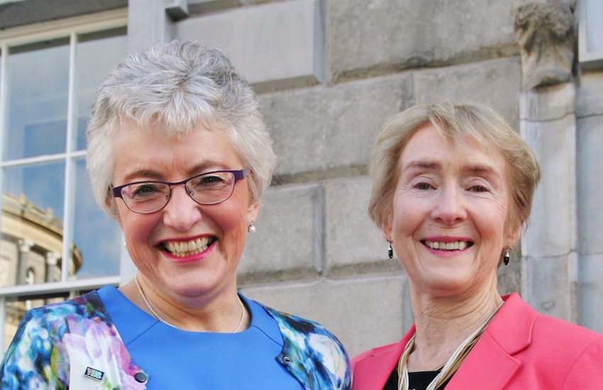 Senator Katherine Zappone and Ann Louise Gilligan will renew their vows in the new year.
